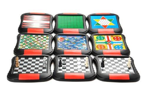 Monaco Reversi, magnetisches Brettspiel, Größe Medium: Abmessungen 27,2 x 23,7 x 3,5 cm, Mod. SC9612 DE - 5