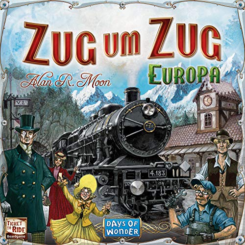 Asmodee – Days of Wonder 200098 – Zug um Zug Europa - 6