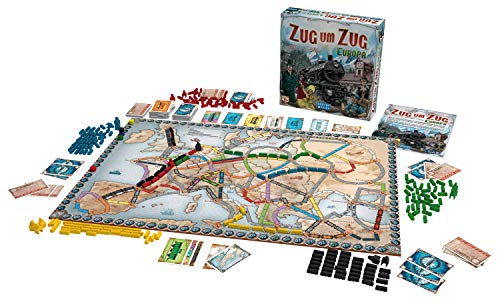 Asmodee – Days of Wonder 200098 – Zug um Zug Europa - 7