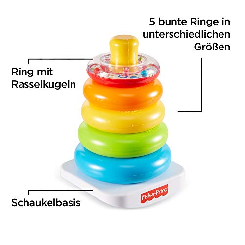Fisher-Price 71050 – Farbring Pyramide - 3