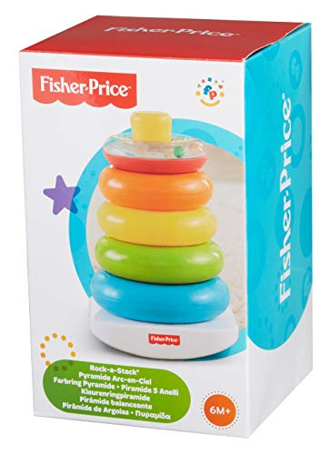 Fisher-Price 71050 – Farbring Pyramide - 5