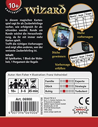 Amigo 6900 – Wizard, Kartenspiel - 2