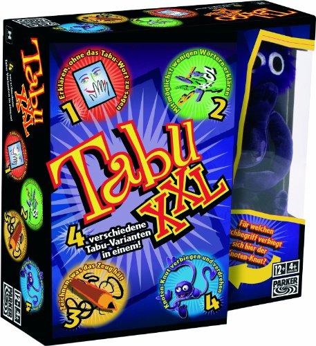 Hasbro Spiele 04199100 – Tabu XXL, Partyspiel - 4